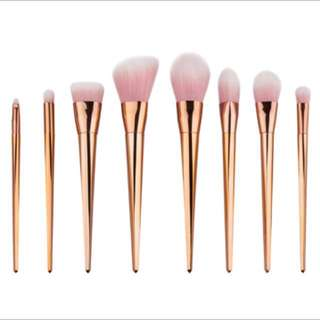 Tarte- Rose Gold Brushes/ Brush Set