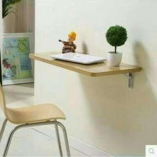 pcs Meja laptop lipat dinding / meja kerja / meja dinding
