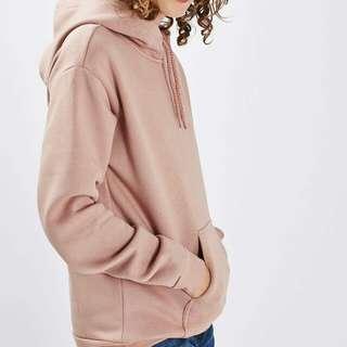 TOPSHOP Classic Pink Hoodie