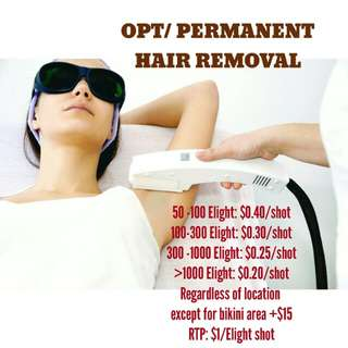 OTP/HAIR REMOVAL