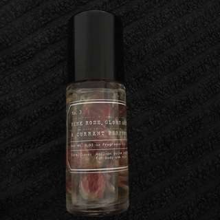Urban outfitters roll on rose perfume