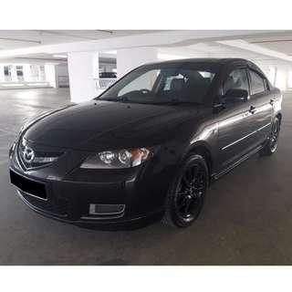 Rent Car East Mazda3 1.6A Watsapp at 96333593