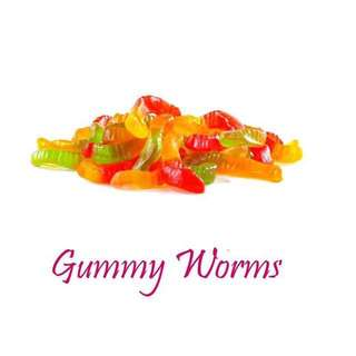 1/2 kilo Gummy Worms