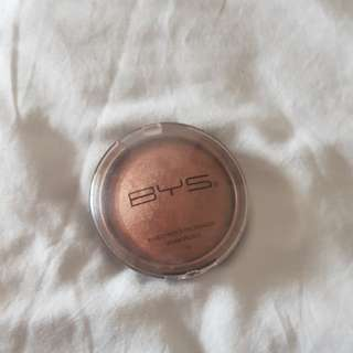 Bys baked high shine bronzer
