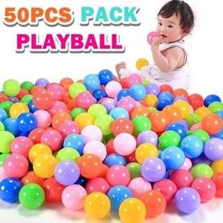 50PCS PACK PLAYBALL