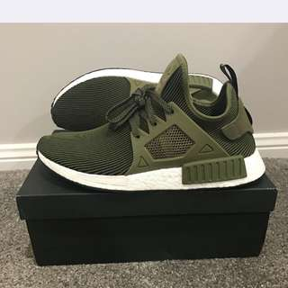 NMD XR1 Pk Olive Green