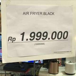 Jual rugi KLAZ AIR FRYER turun harga lagi