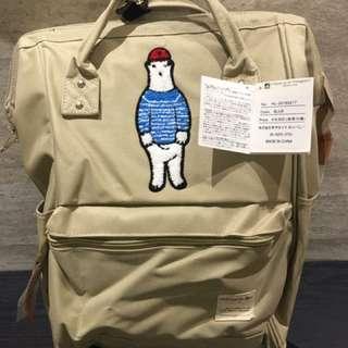 🚚 出清降價anello日本🐻熊限量大開口後背包