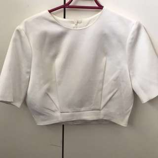 C/MEO COLLECTIVE TAILORED CROP XS