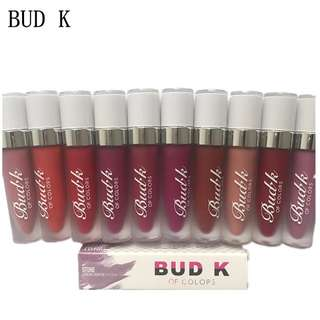 Bud k matte lipstick 12 pieces