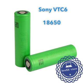 SONY 最高容量動力鋰電池 18650 high power VTC6 battery vape vaping