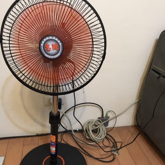 12吋360度電風扇 惠騰 台灣製造