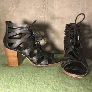Strappy Heels Forever 21 Size 8