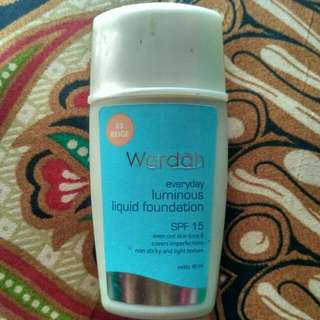 Wardah Foundation No 3 Beige