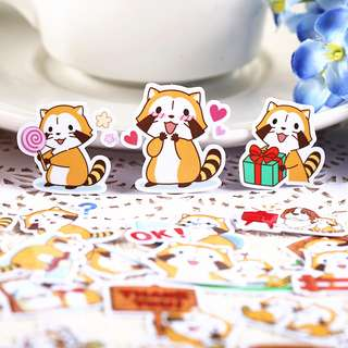 Riley the Raccoon Scrapbook / Planner Stickers #45