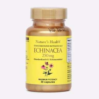 NEW, SALE - Nature's Health Echinacea Imun Supplement