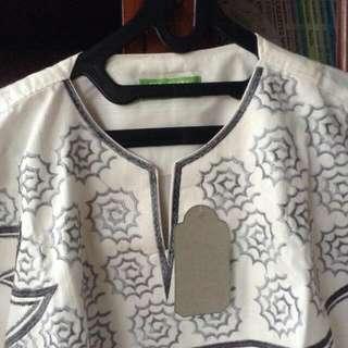 Baju Koko Lengan Pendek (Size M)
