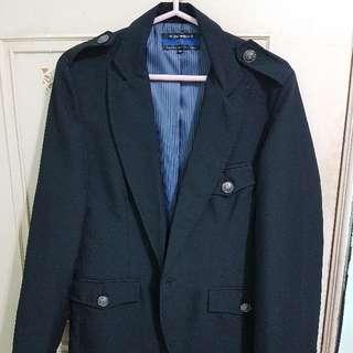 軍裝式 西裝外套