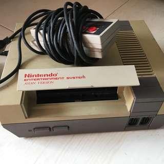 Retro Nintendo Set with 2 joypad (game cartridges not included)