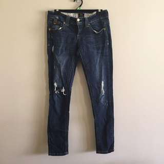 River island  ripped jeans