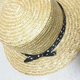 挺版編織草帽👒