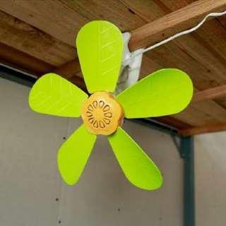 Electric fan clip