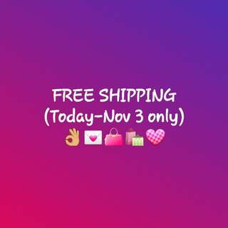 Free shipping! Less hassle!