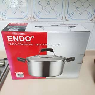 Endo 24cm stainless steel cookware