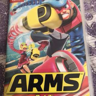 Nintendo Switch Game - Arms