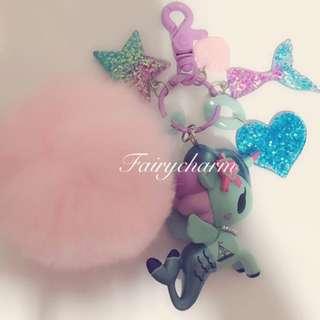 Marina & tail fob Bag charm