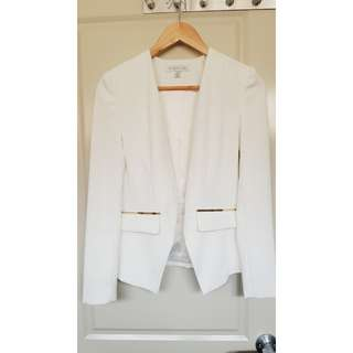 Forever New White Blazer