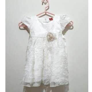 [二手]女童立體玫瑰禮服  洋裝  #我的嬰幼可超取