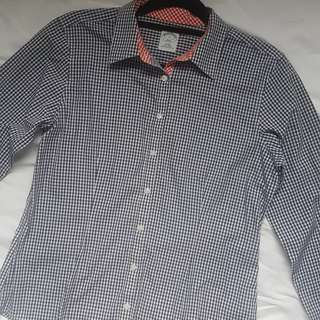 AS NEW BROOKS BROTHERS NON IRON LONG SLEEVE WORK SHIRT size AU 10 12