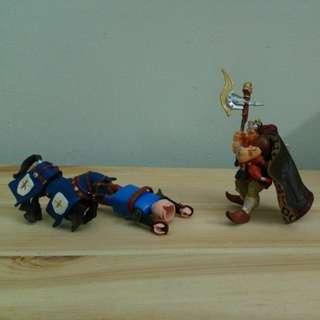 Kingdom Fighting Figures Playset