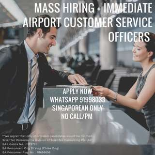 Airport Customer Service Officer