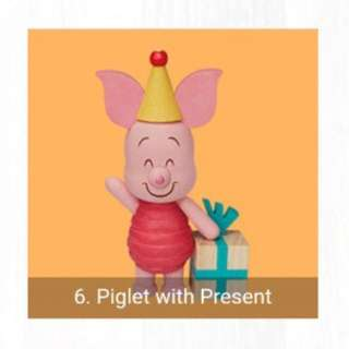 Looking For: Piglet Figurines from 7-11