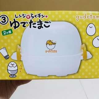 rare gudetama microwave egg boiler