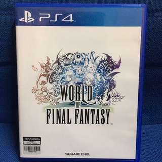 World of Final Fantasy (PS4 R3 Chinese)