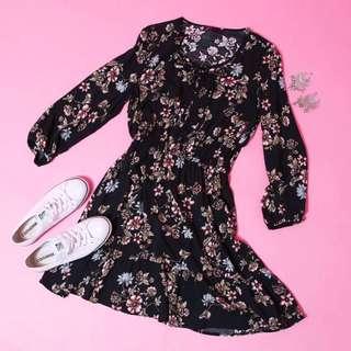 Ally fashion floral dress