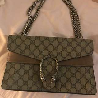 Gucci dionysus bag 99%new