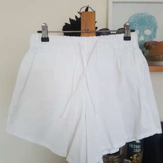 Assembly Label white cotton shorts 6