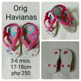 havaianas infant slipper