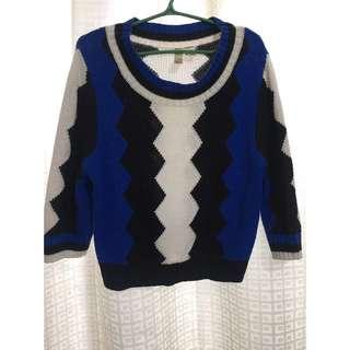 Forever 21 sweater Semi crop top