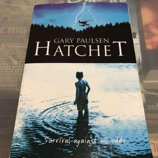 The Hatchet by Gary Paulsen