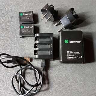 Smatree GoPro Hero 4 2-Pack Batteries