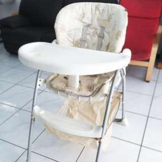 Mothercare Highchair Reclined