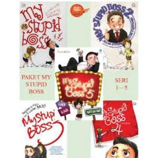 eBook My stupid Boss seri 1-5
