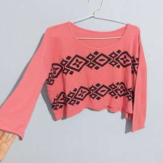 Crop Top Longsleeve