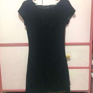 Laced little black dress (Dorothy Perkins)
