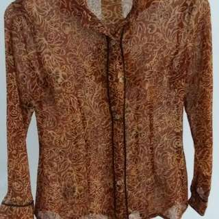 Private blouse size 10